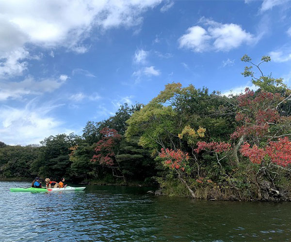 半日カヤック体験(湖)